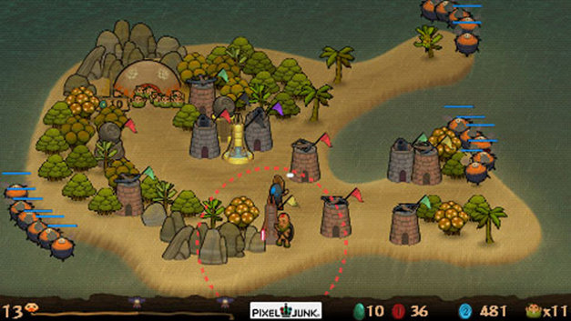 PixelJunk™ Monsters Deluxe Screenshot 4
