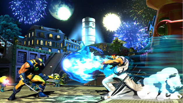 Marvel™ vs. Capcom® 3: Fate of Two Worlds Screenshot 1