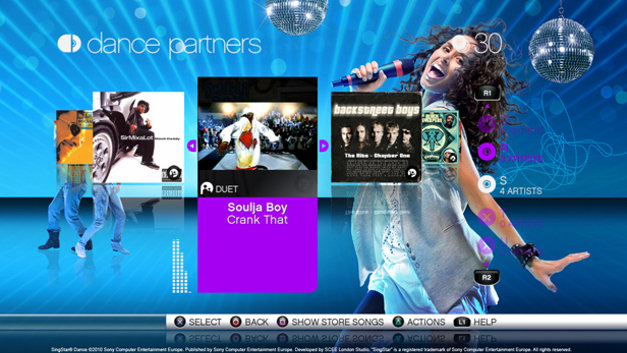 SingStar® Dance Screenshot 16