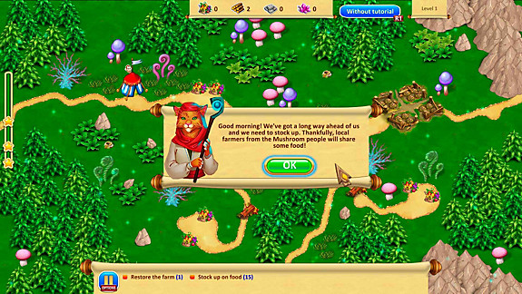 Gnomes Garden 3: The thief of castles - Screenshot INDEX