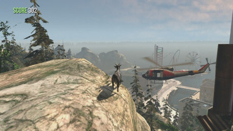 Goat Simulator Trailer Screenshot