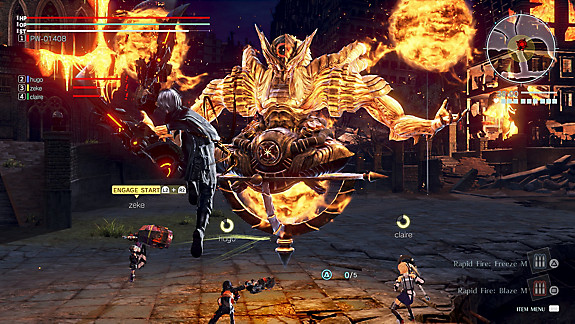 GOD EATER 3 - Screenshot INDEX