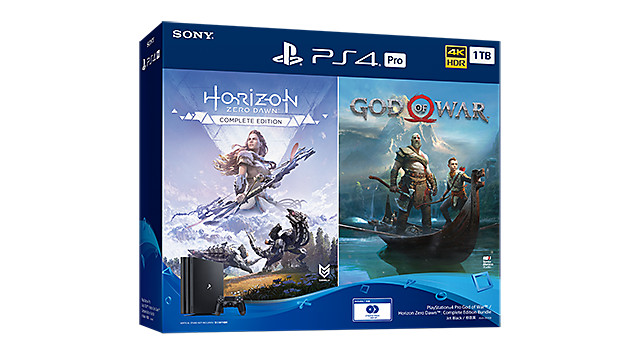 PlayStation 4 Pro God of War™ / Horizon Zero Dawn™: Complete Edition Bundle