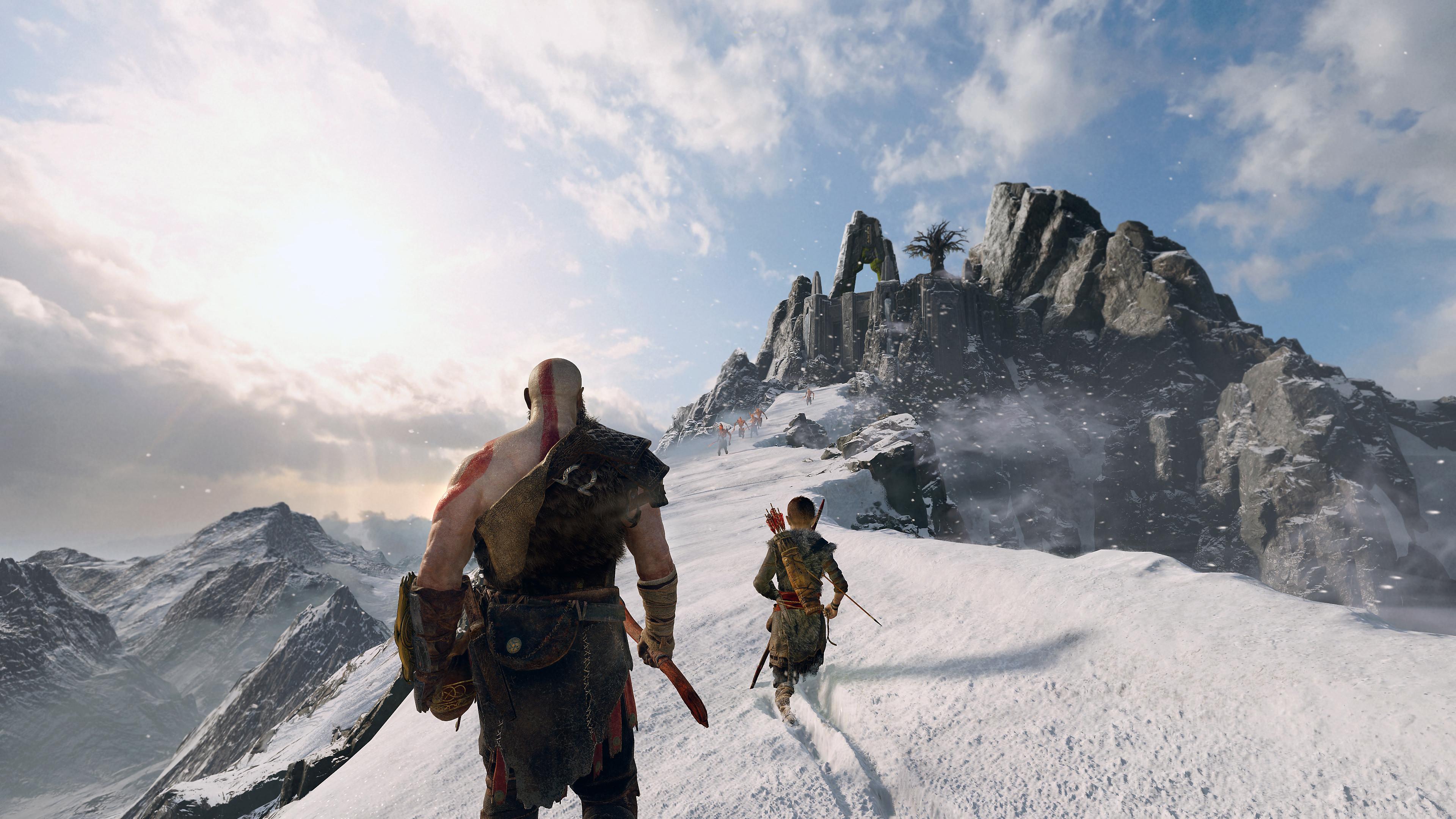 god of war 4 gameplay ile ilgili görsel sonucu