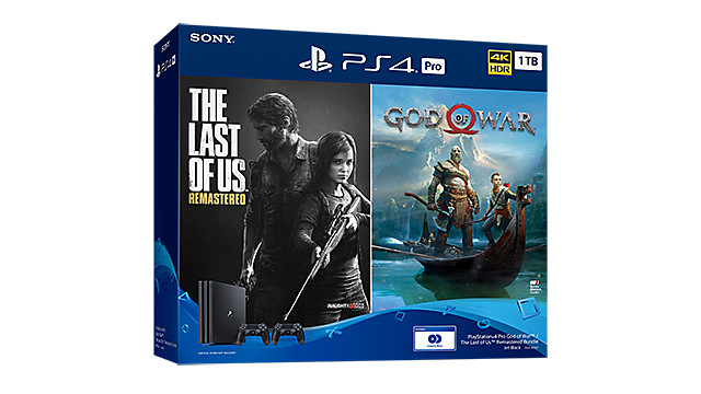 PlayStation 4 Pro God of War™ / The Last of Us™ Remastered Bundle