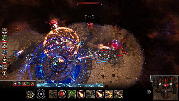 Golem Gates - Screenshot INDEX