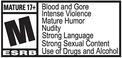 Grand Theft Auto V ESRB Rating