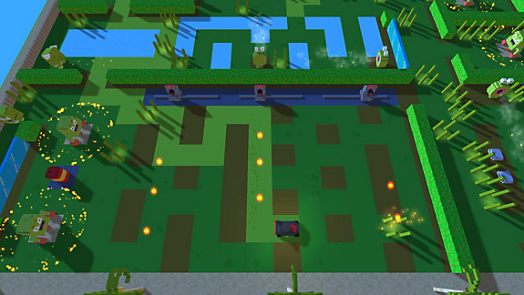 Grass Cutter - Mutated Lawns - Screenshot INDEX