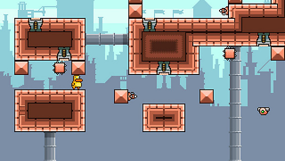 Gravity Duck - Screenshot INDEX