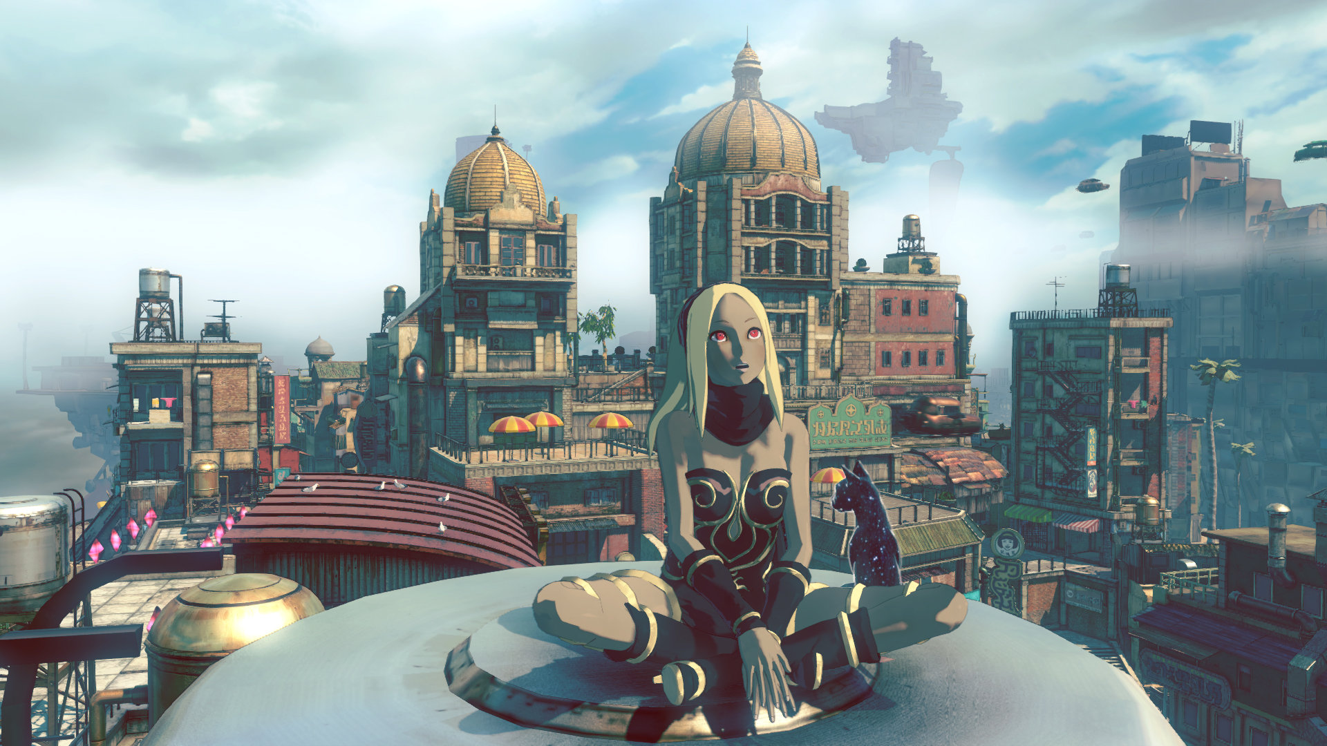 Bildresultat för gravity rush 2