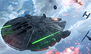 Star Wars Battlefront: Fighter Squadron Mode - Gameplay Trailer