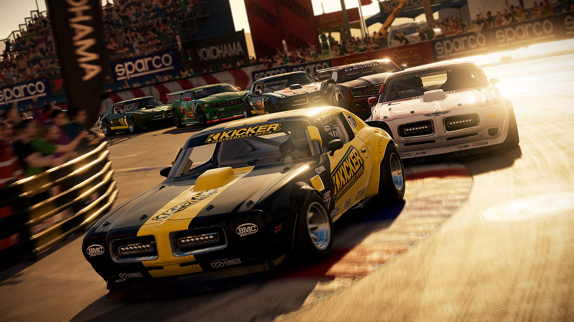 Gameplay de GRID