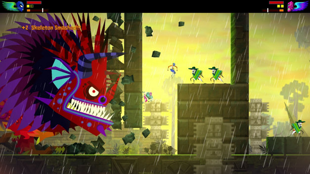 Guacamelee!  Super Turbo Championship Edition©  Screenshot 1