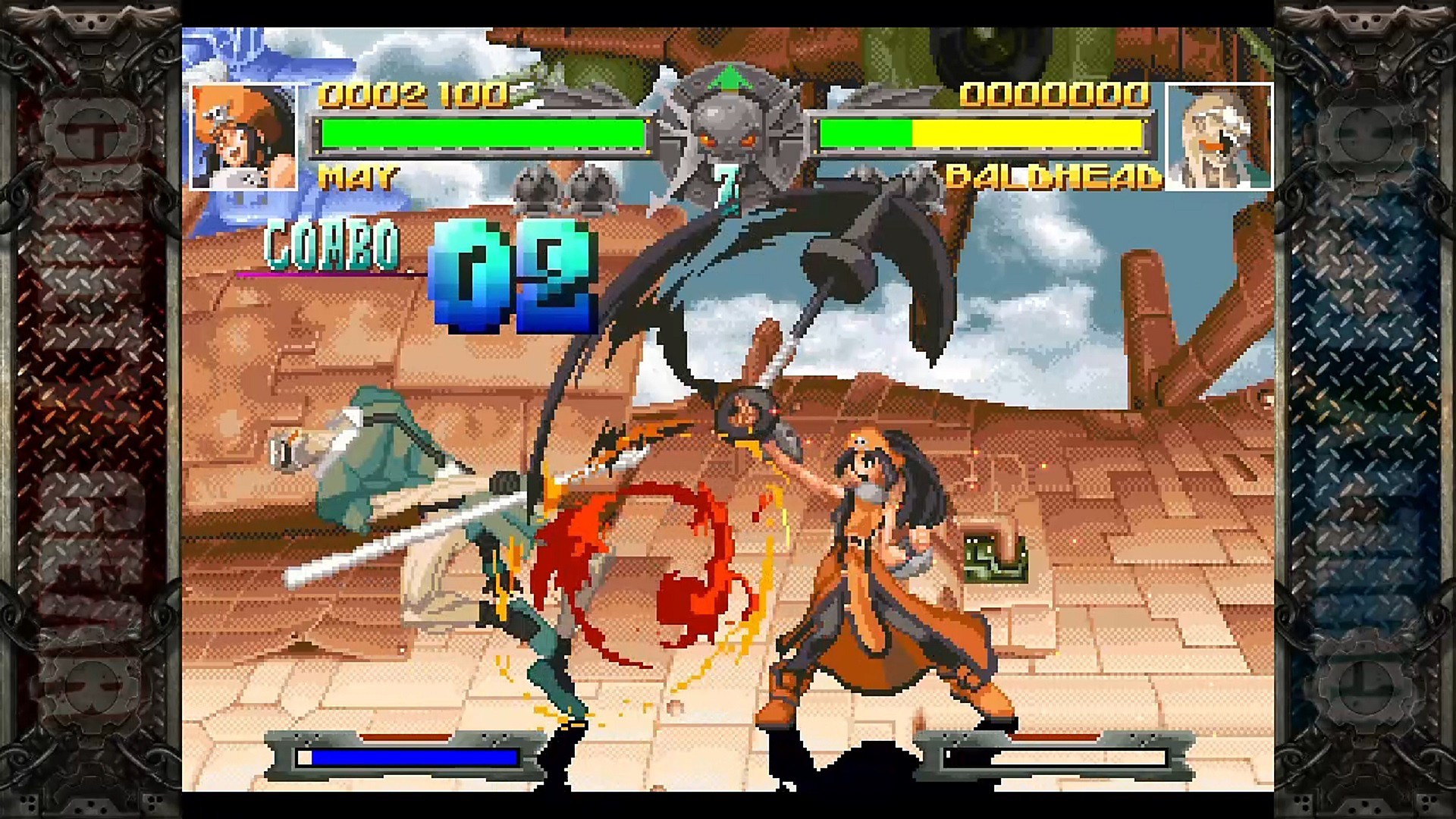 Gameplay de GUILTY GEAR