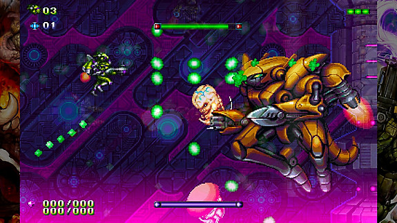 Gunlord X - Screenshot INDEX