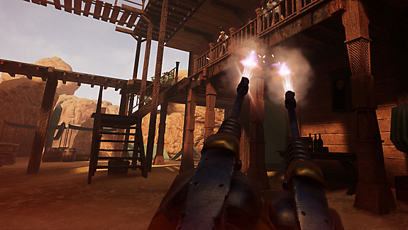 Guns'n'Stories: Bulletproof VR - Screenshot INDEX