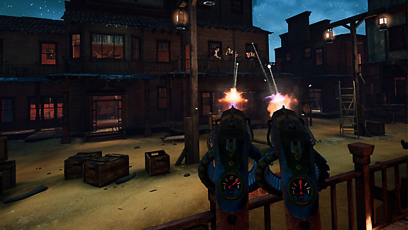 Guns'n'Stories: Bulletproof VR screenshot