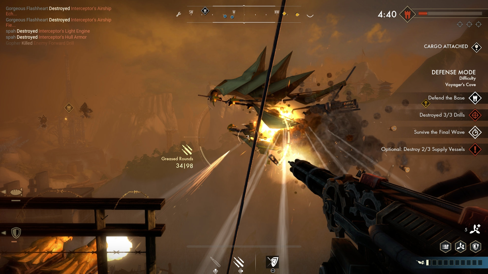 Guns Of Icarus Alliance PS4 Edition Screenshot 5