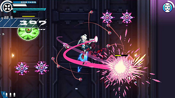Gunvolt Chronicles: Luminous Avenger iX - Screenshot INDEX
