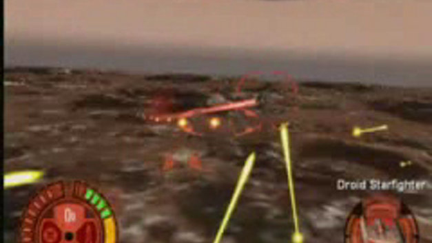Star Wars: Jedi Starfighter Video Screenshot 1