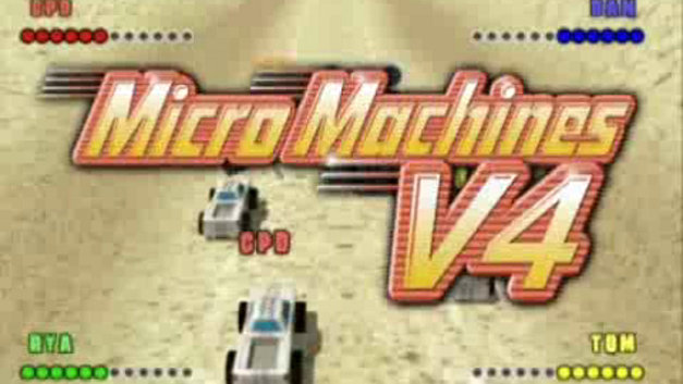 Micro Machines V4 Video Screenshot 1