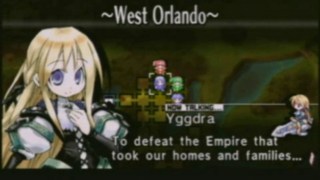 Yggdra Union Video Screenshot 1