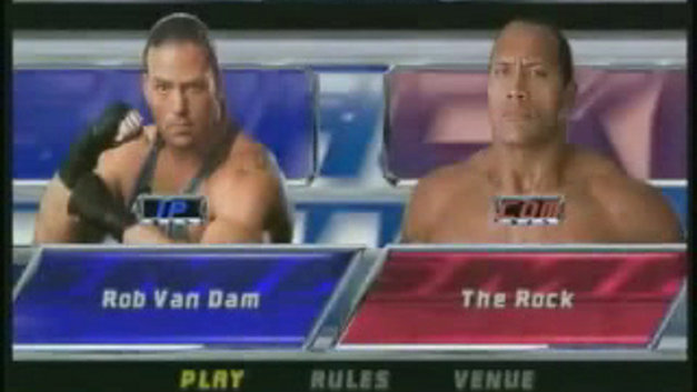 WWE SmackDown! Shut Your Mouth Video Screenshot 1