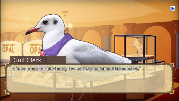 Hatoful Boyfriend: Holiday Star Screenshot 1