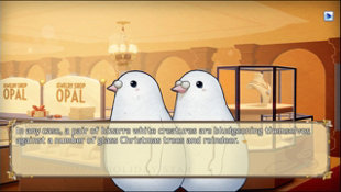 Hatoful Boyfriend: Holiday Star Screenshot 5