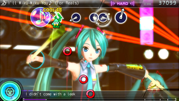 Hatsune Miku Project DIVA F 2nd Screenshot 1