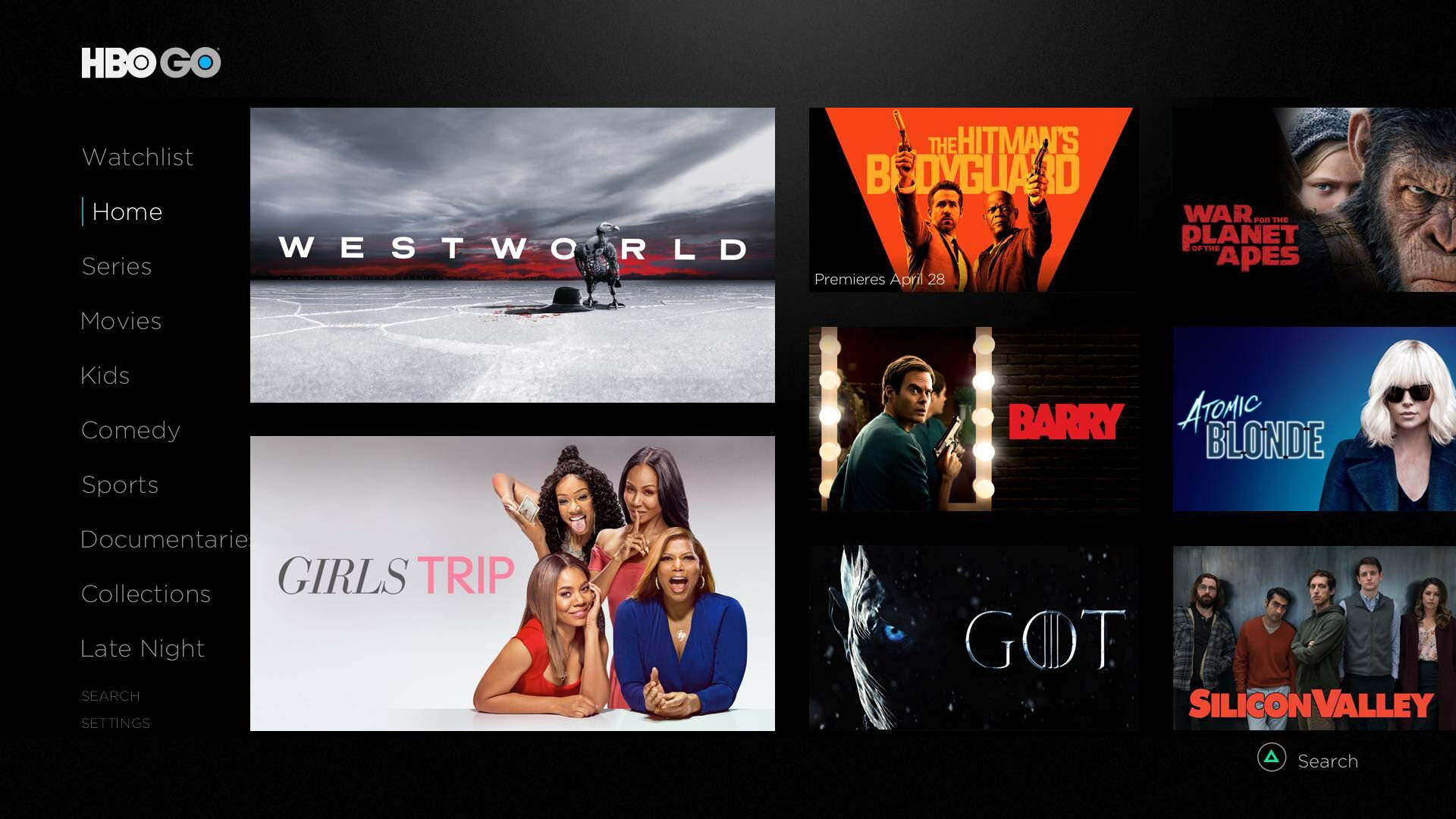 HBO GO App on PlayStation | PlayStation Network Entertainment