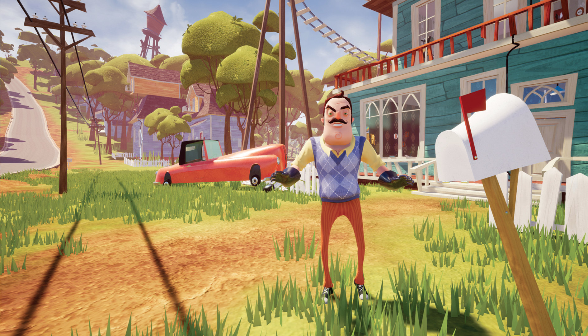 Hello Neighbor Game Ps4 Playstation