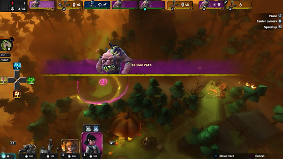 Hero Defense - Screenshot INDEX