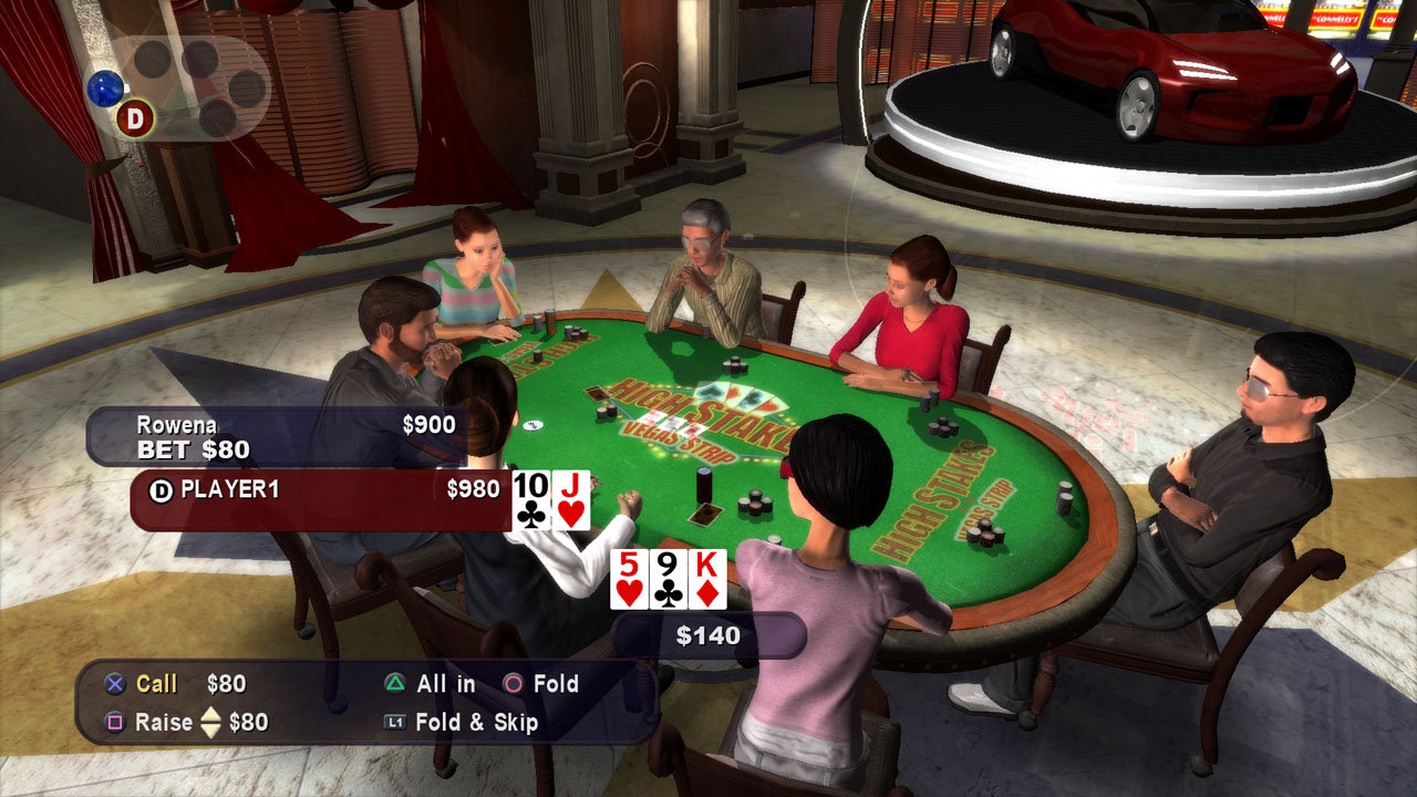 Multiplayer strip poker