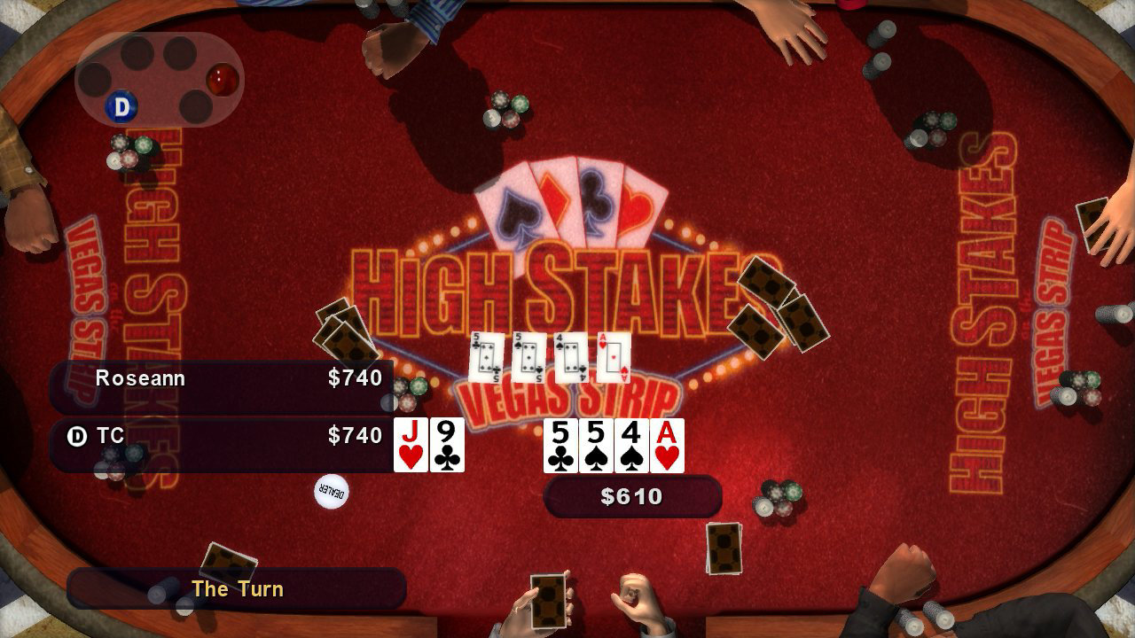 High stakes on the vegas strip: poker edition game | ps3 playstation.