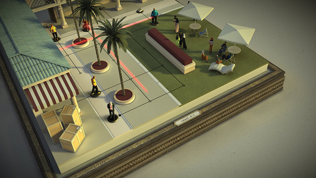 Hitman GO: Definitive Edition Screenshot 1