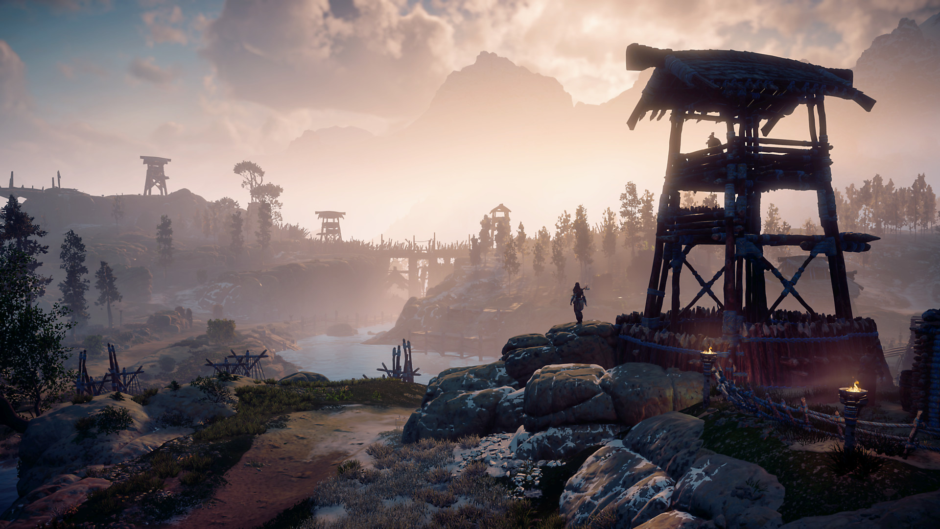 The vast landscapes of Horizon Zero Dawn