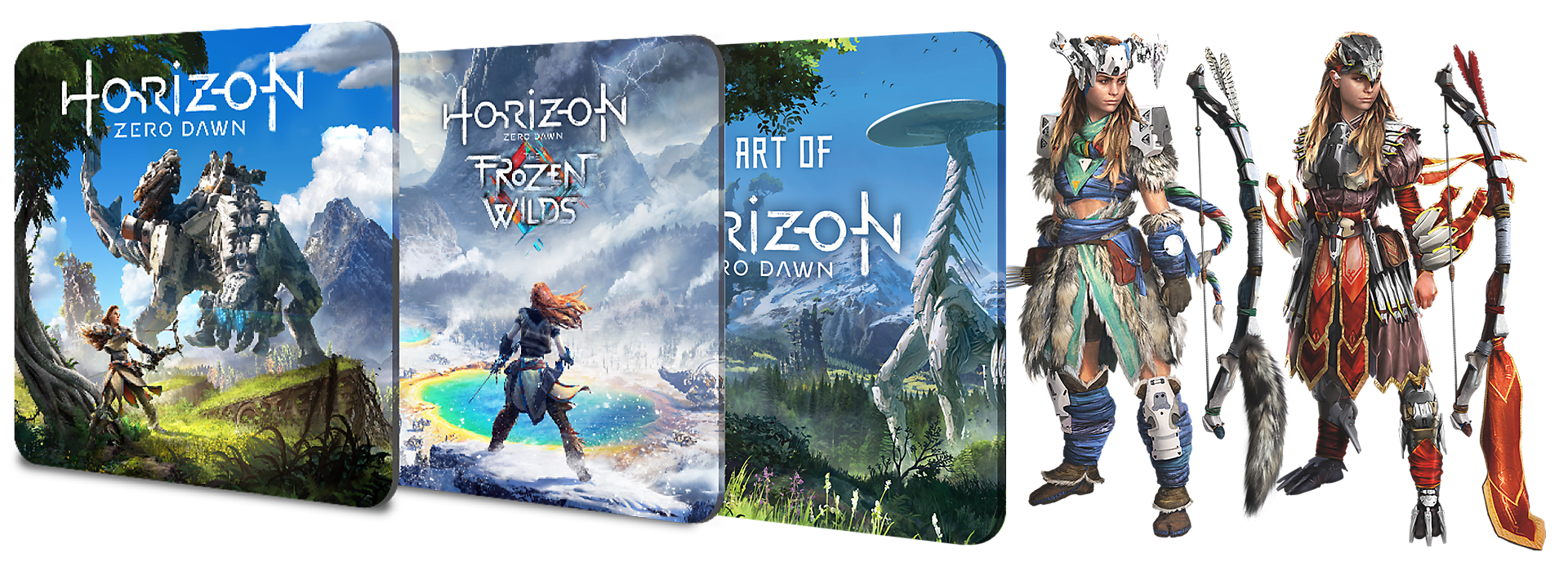 Contents of Horizon Zero Dawn Complete Edition