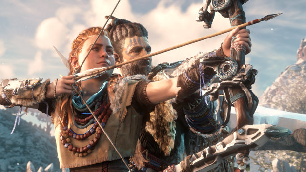 Horizon Zero Dawn PS4 Screenshot 1