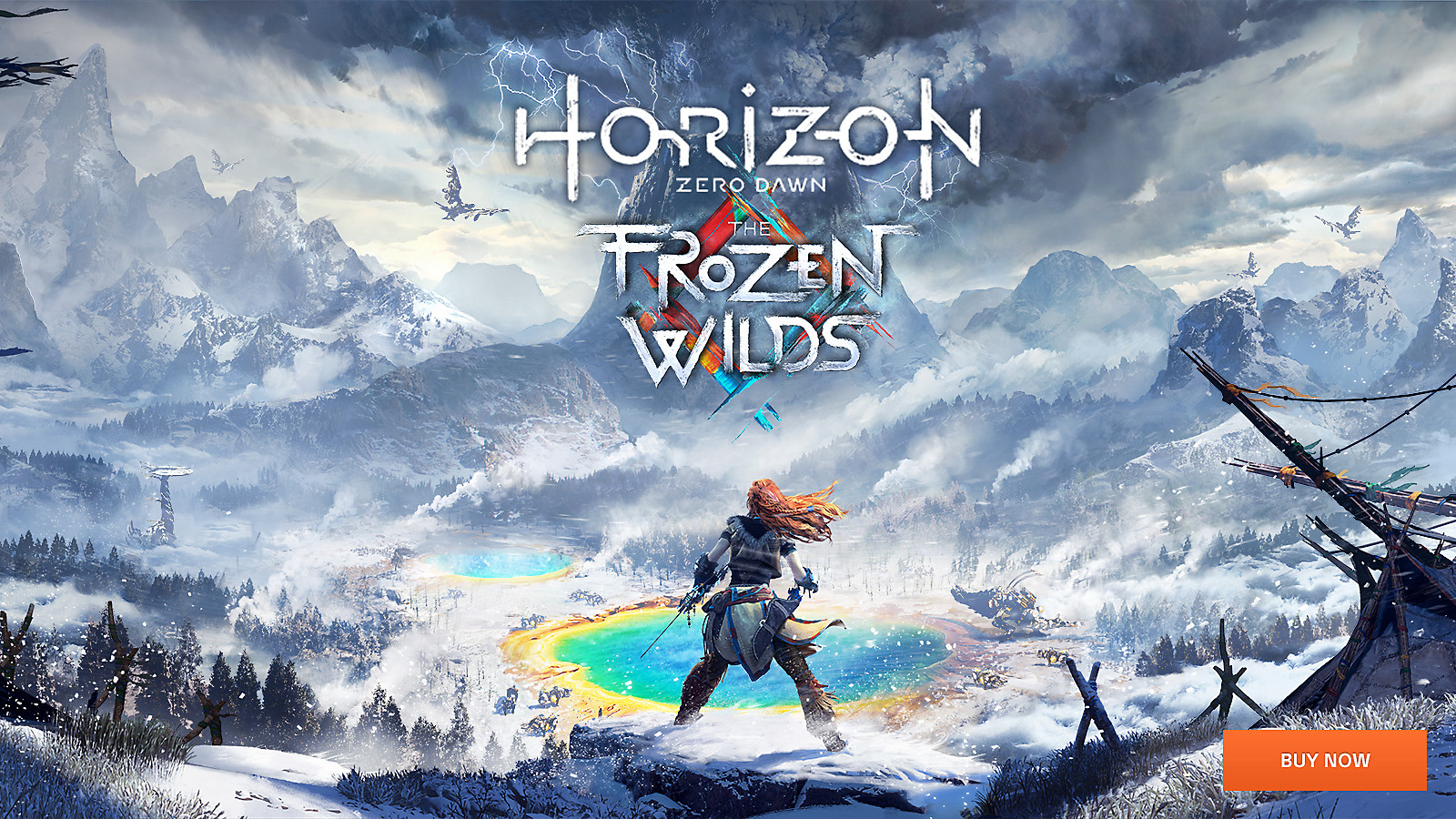 Horizon Zero Dawn: The Frozen Wilds  - PS4 Pro