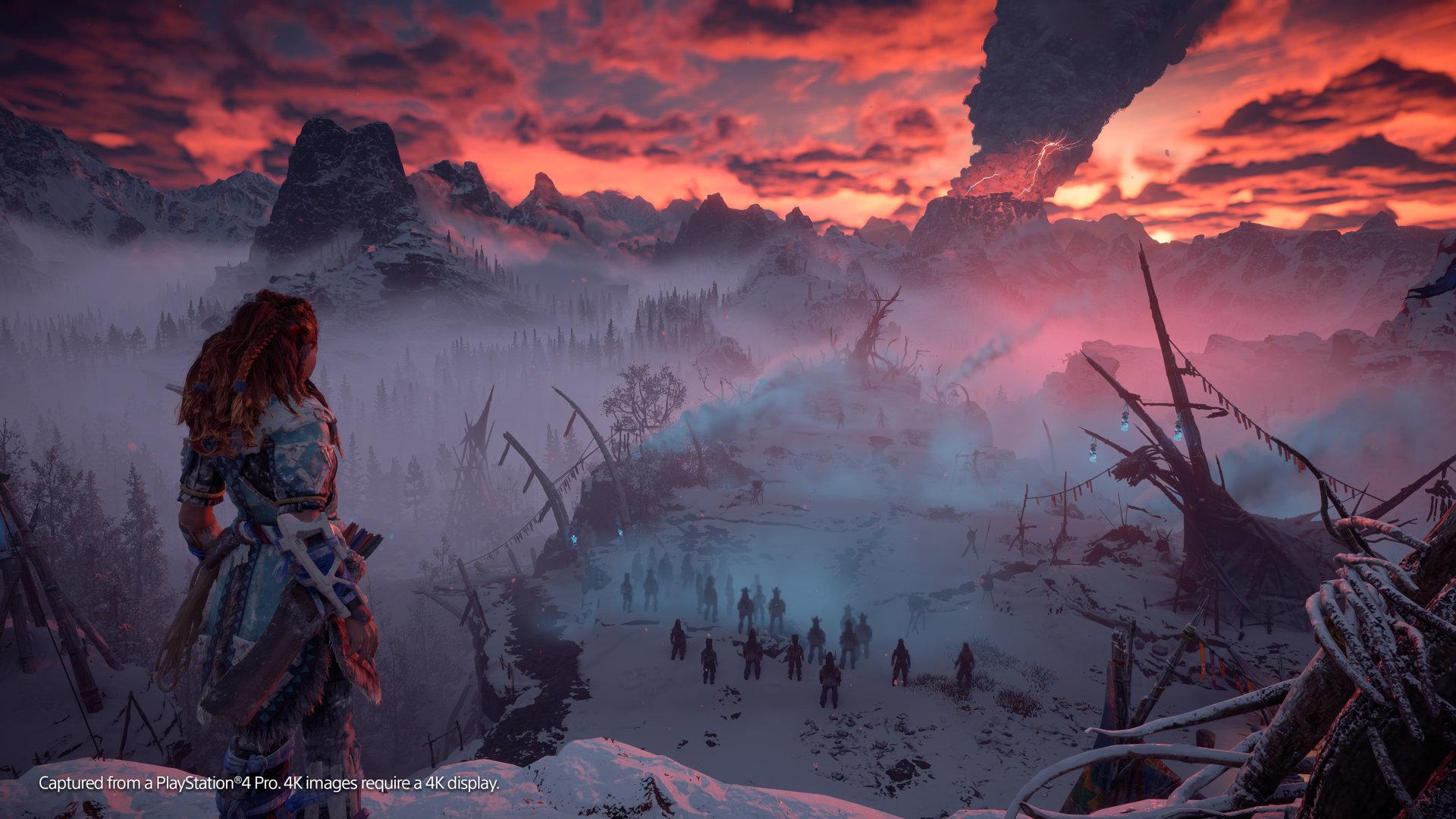 Horizon Zero Dawn The Frozen Wilds Game Ps4 Playstation