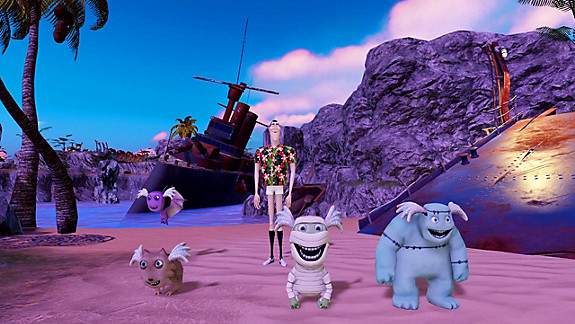Hotel Transylvania 3 Monsters Overboard - Screenshot INDEX