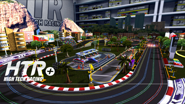 HTR+ Slot Car Simulation Screenshot 10