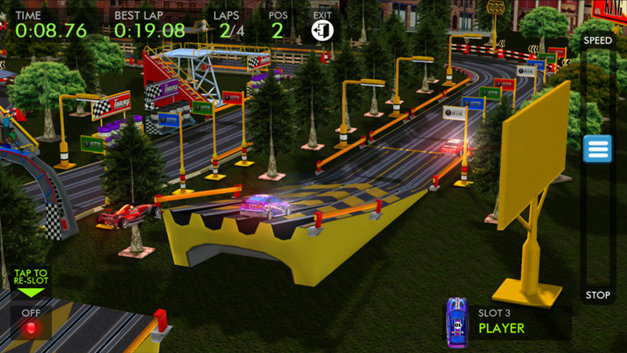 HTR+ Slot Car Simulation Screenshot 4