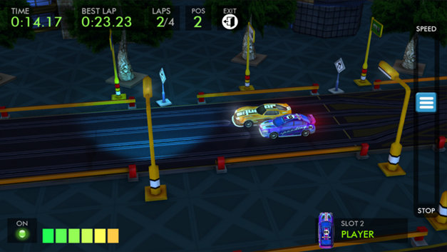 HTR+ Slot Car Simulation Screenshot 7