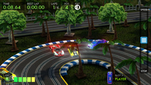 HTR+ Slot Car Simulation Screenshot 2
