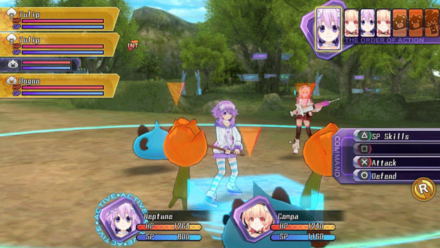 Hyperdimension Neptunia ReBirth1 Screenshot 7