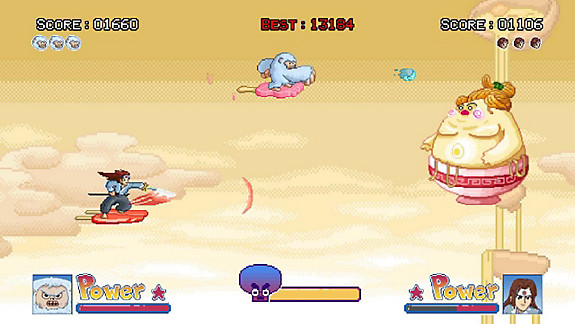 Ice Cream Surfer - Screenshot INDEX