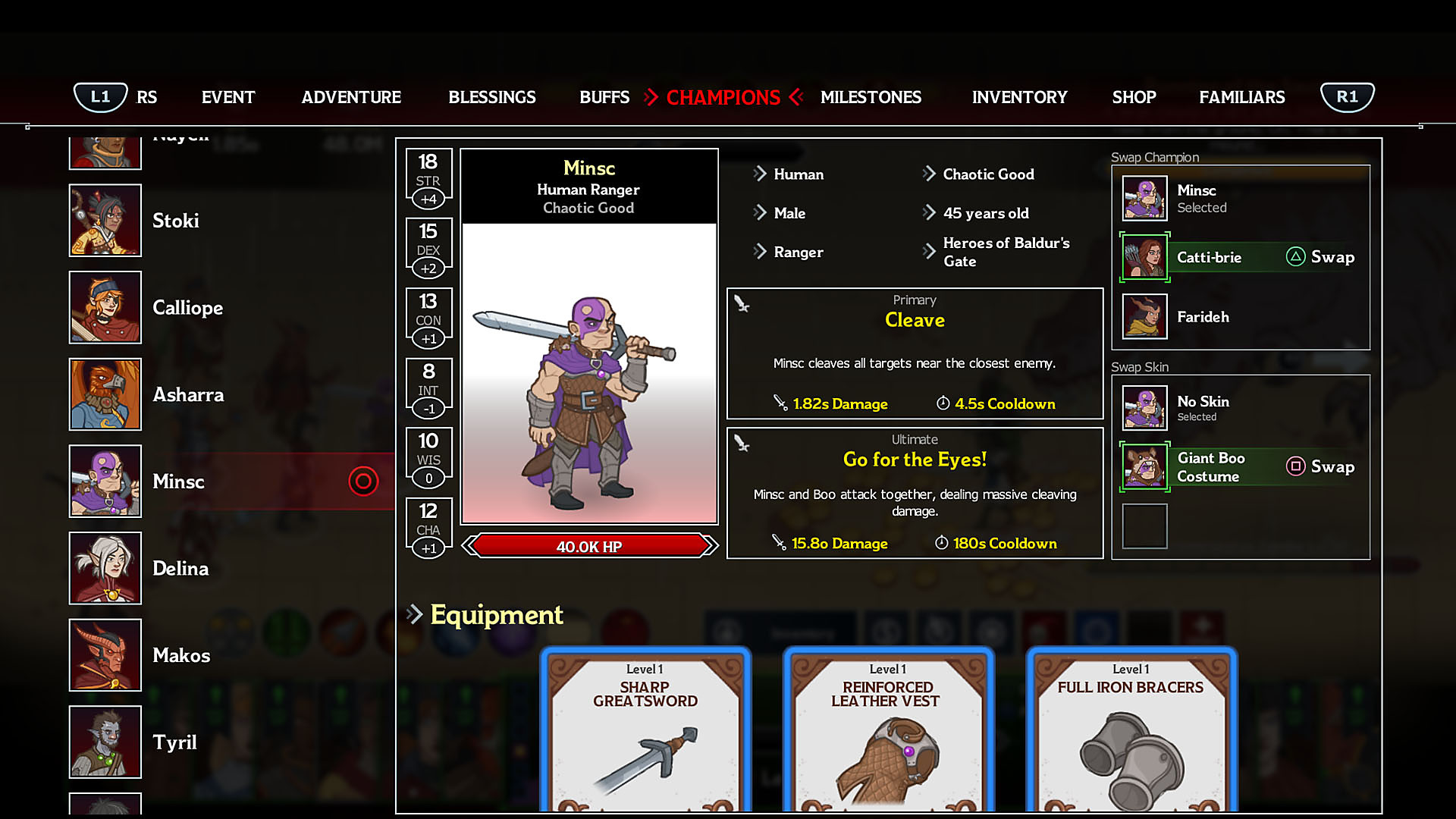 Idle Champions of the Forgotten Realms Game | PS4 - PlayStation