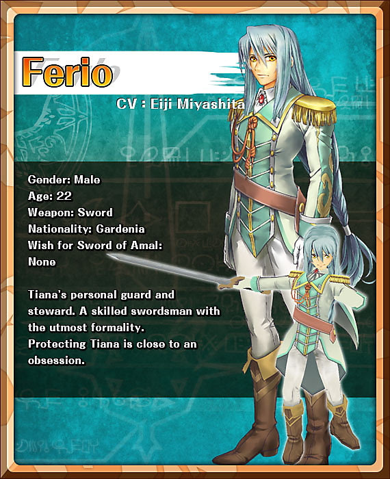 personnage ferio